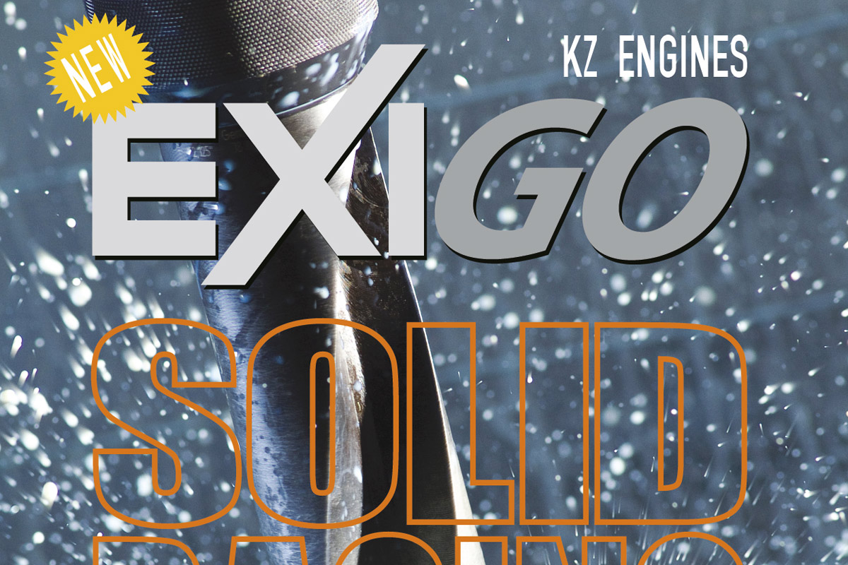 Pagina pubblicitaria motore EXIGO - DeBei Motori