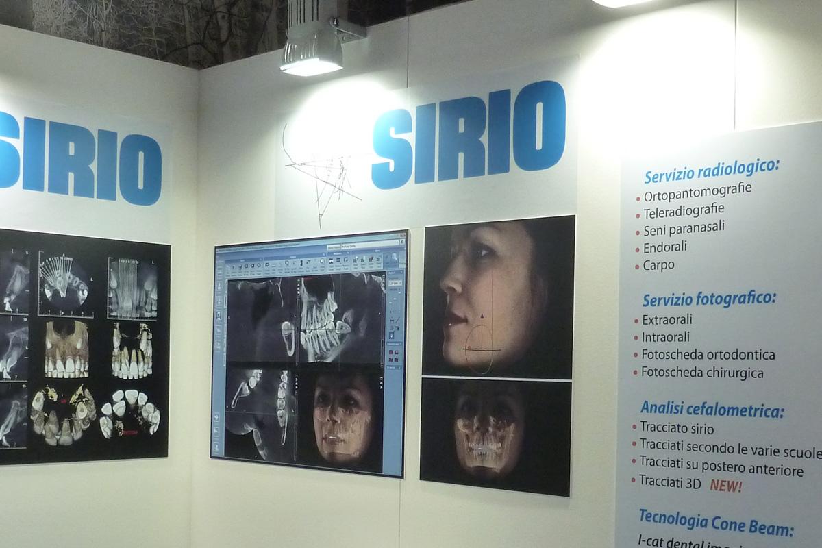 Spazio espositivo Sirio s.r.l. ad evento presso Hotel B4, Pero - Milano