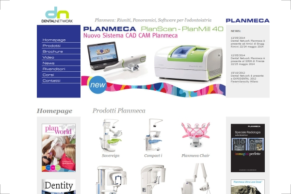 Sito web Dental Network
