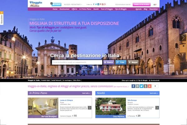 Sudio, realizzazione e gestione del progetto Viaggio-in-Italia