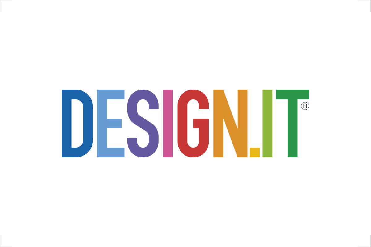Logotipo dello studio DESIGN.IT di progettazione: design - grafica - web di Stefano Meriggi - Milano