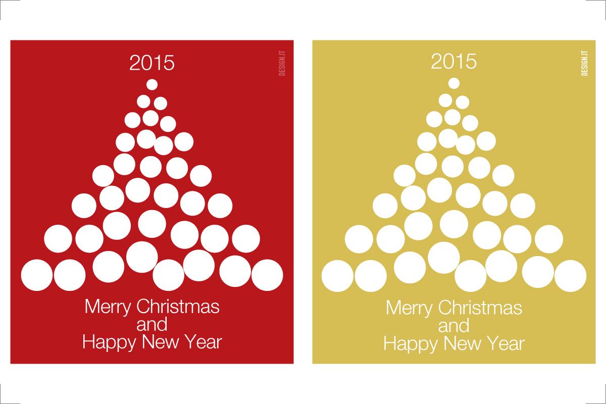 Biglietto Di Auguri Natale 2015 Designit