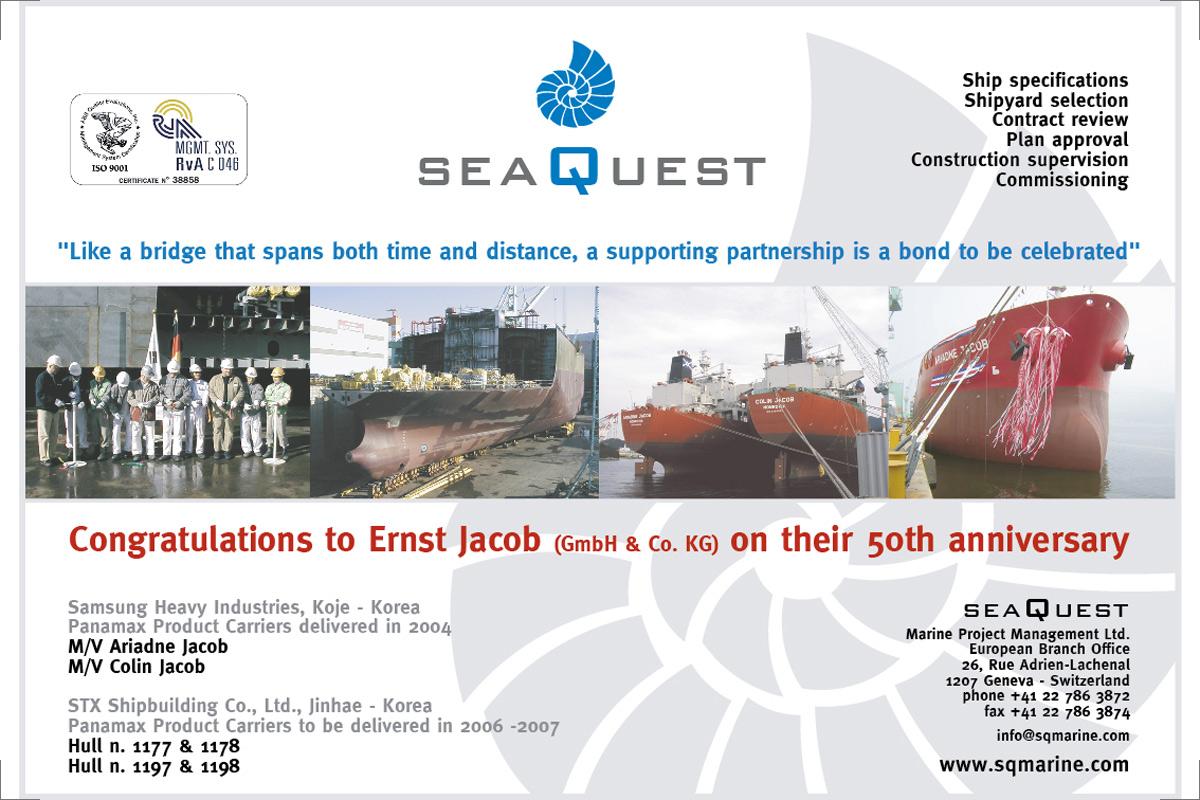 Inserzione pubblicità SeaQuest Marine