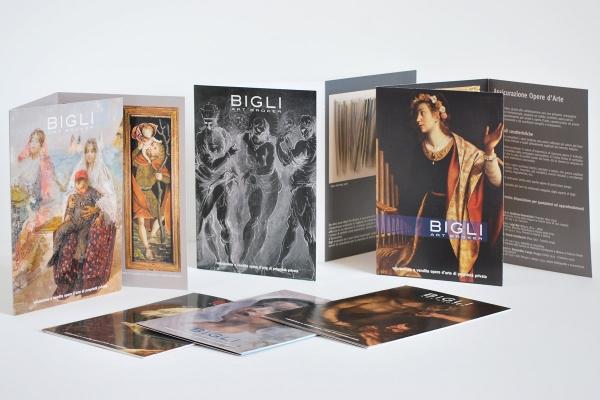 Pieghevoli Bigli Art Broker (formato A5)
