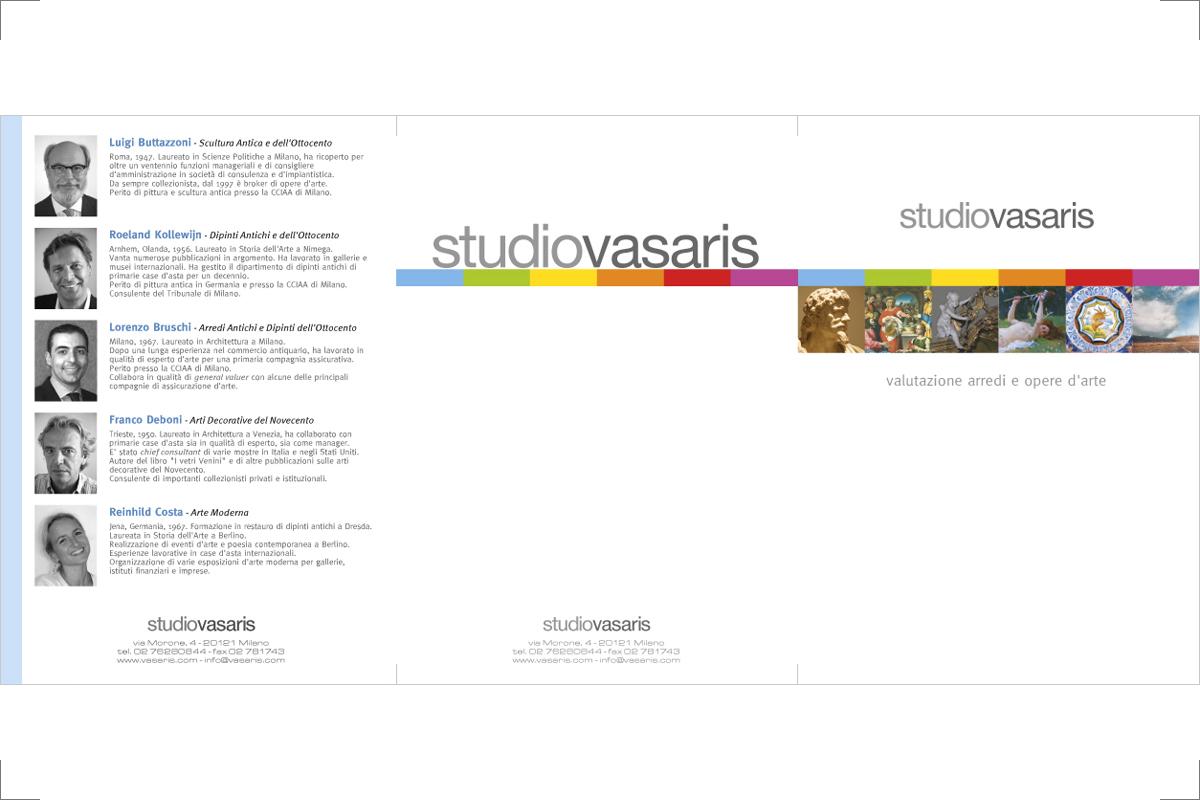 Pieghevole Vasaris (formato A5)