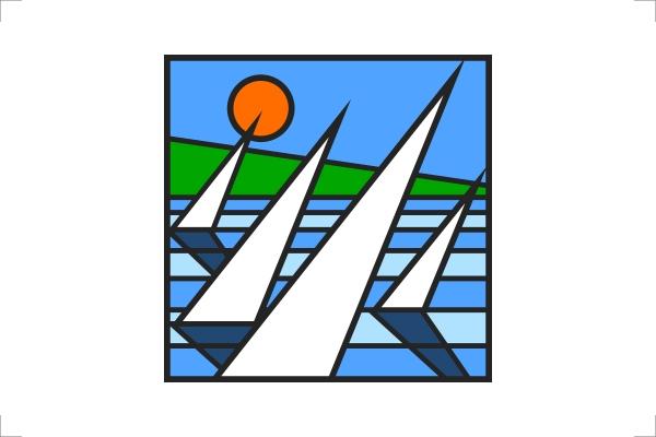 Marchio grafico della Settimana Preolimpica di Genova organizzata dallo Yacht Club Italiano nel 1994