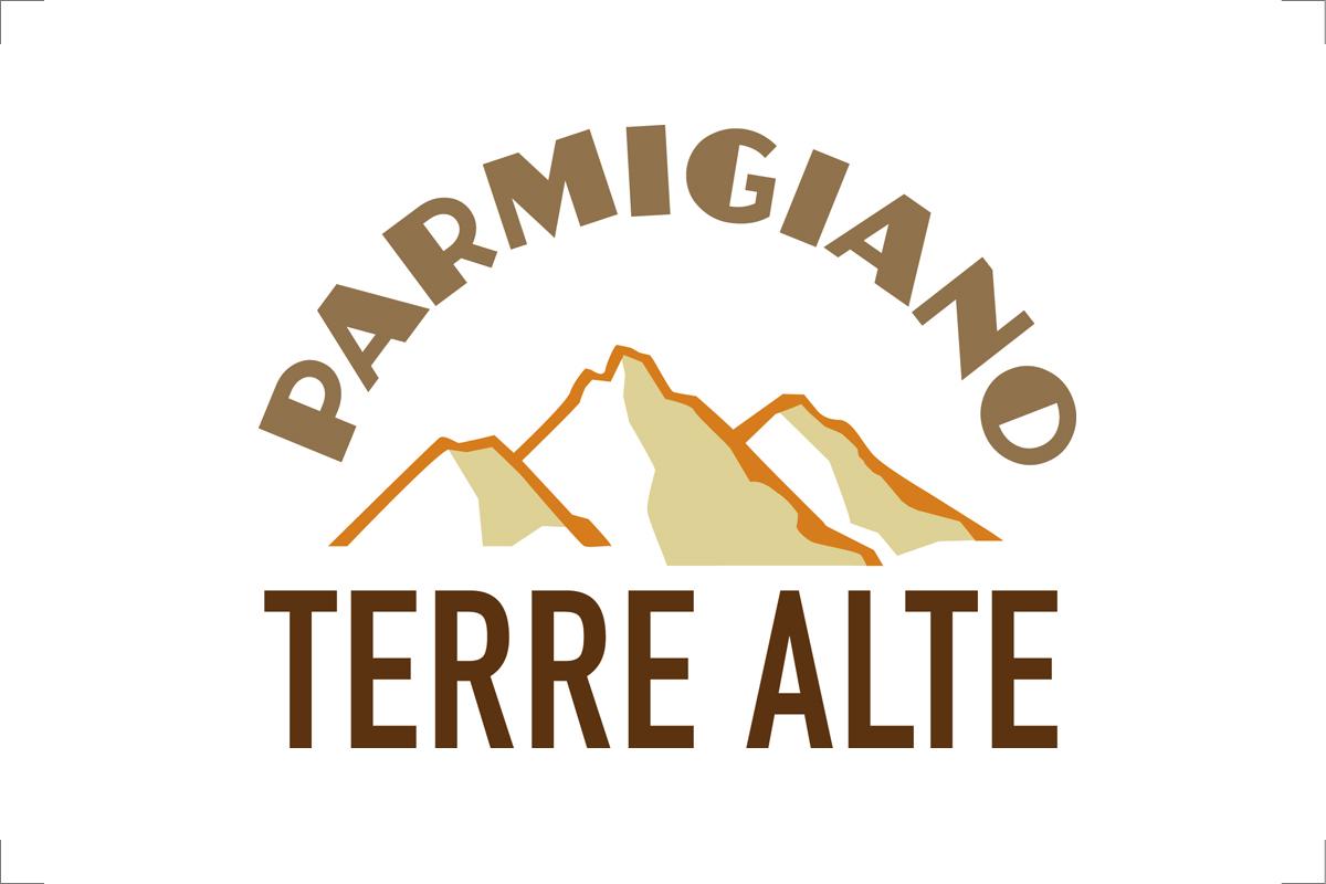 Marchio grafico del Parmigiano Terre Alte