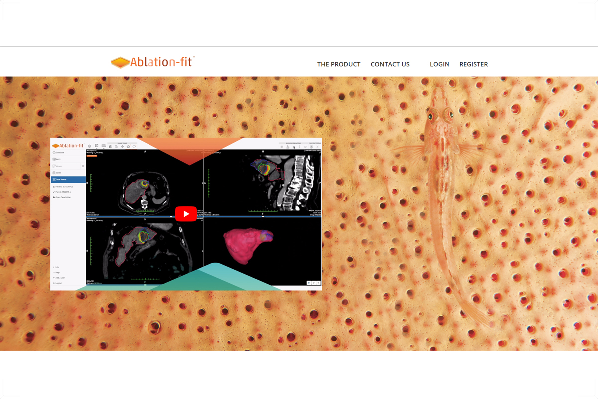 Homepage del sito web Ablation-fit