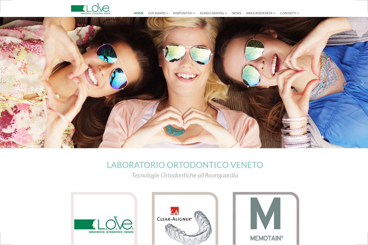Sito web LOVe ortodonzia